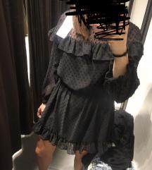 Zara haljina s volancicima