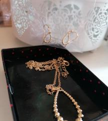 Set ogrlica i naušnice