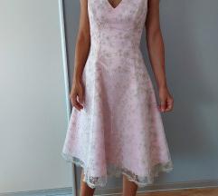 Svečana haljina saten i čipka