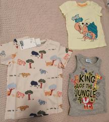 Novo! Set kratkih majica za bebe H&M