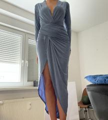 ASOS maxi haljina s prorezom, 36 NOVO S ETIKETOM