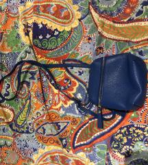 Mini torbica plava