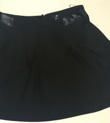 Crna suknja H&M, vel. 42