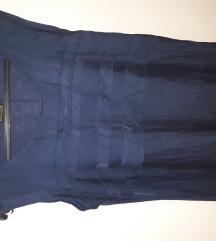 Massimo Dutti svilena bluza S