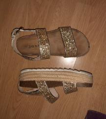 Josh zlatne sandale