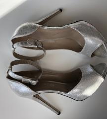 Asos srebrne štikle