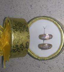 Zlatne nausnice 585 NOVO Postarina gratis!