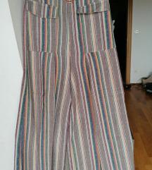 Pamučne pallazzo hlače Asos 38