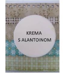 Krema s alantoinom - pužev gel