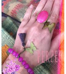 Prsten rozi  i leptir