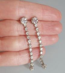 Vintage dijamantne naušnice
