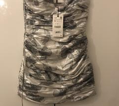 Zara haljina niva s etiketom