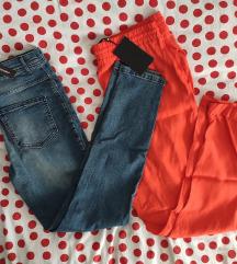NOVO s etiketom 🏵️ Calzedonia + Mohito hlače