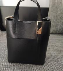 Novo DKNY Donna Karan Shopper crna torba