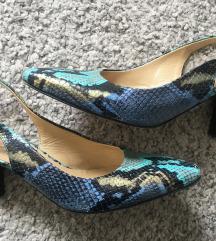 Snake print kožne sandale vel 38