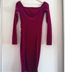Uska ciklama haljina IJ Design