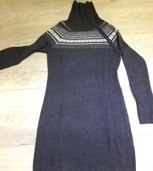 Zimska vunena haljina xs