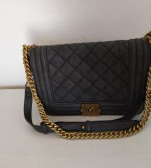 Siva torba like Chanel