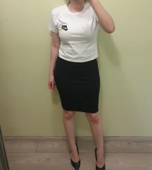 Nova uska crna midi suknja