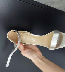 Silver sandale