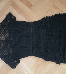 ASOS mini crna haljina