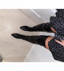 Visoke crne cizme