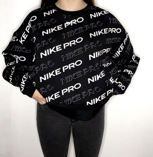 Nike pro crna hudica