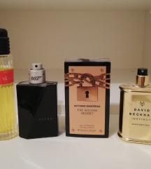 LOT 4 muska parfema