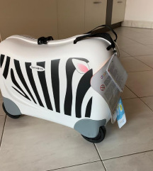 Samsonite novi kofer Zebra