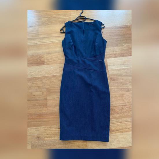 Orsay business look plava haljina