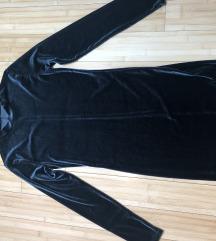 Plišana bodycon haljina - jednom nošena