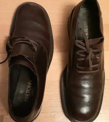 Kožne smeđe cipele