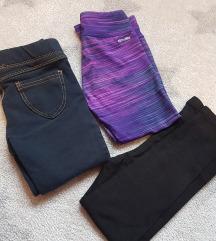 LOT hlače + tajice x2 za 2-3 godine