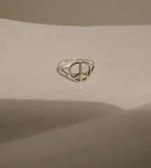Peace prsten
