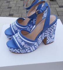 ALDO svjetloplave sandale 38, NOVO
