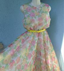Vintage cvjetna haljina