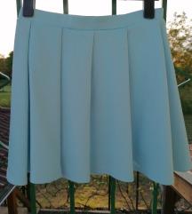 Baby blue suknja