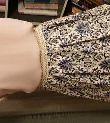 H&M bluza + plisirana suknja, cjena za oboje