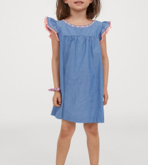 Snizeno! 40kn! H&M haljinica 128