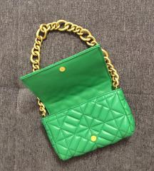 Zara hit zelena torbica