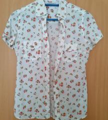 Košulja s cvjetnim uzorkom