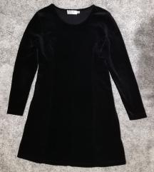 Crna baršunasta MEXX haljina *PRODANA*