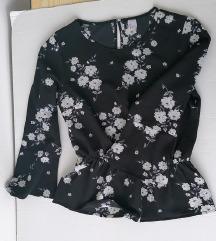 h&m peplum bluza