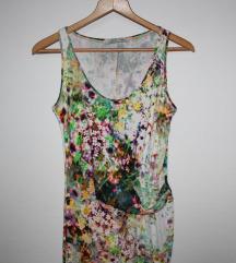 SYLVER cvjetna midi haljina
