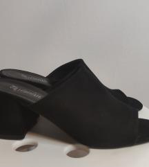 Nove crne sandale mule