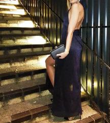 Zara haljina tamno plava