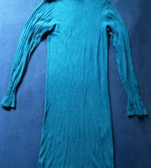 Petrolej plava haljina