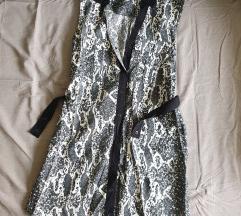 Haljina crno bijela