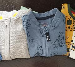 baby majice hoodie novo