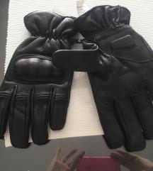 Motoristicke kozne rukavice